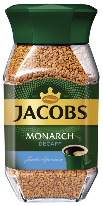 Кофе растворимый Jacobs Monarch Decaff без кофеина