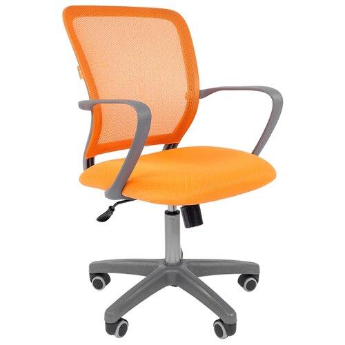 Компьютерное кресло Chairman 698 офисное, обивка: текстиль, цвет: gray/TW-66 цена 2017