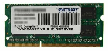 Оперативная память 8 ГБ 1 шт. Patriot Memory PSD38G16002S