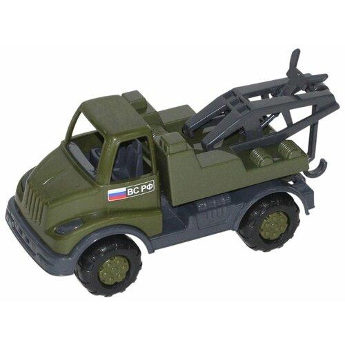 Купить Эвакуатор Полесье военный Кнопик (52049/69986/55910) 18 см РФ, Машинки и техника