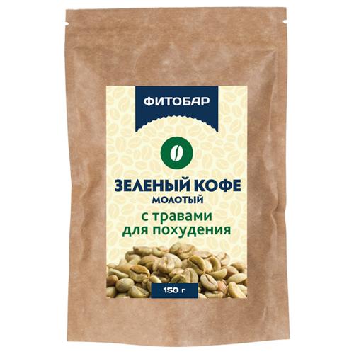 Соик Зеленый кофе молотый с травами для похудения, 150 г
