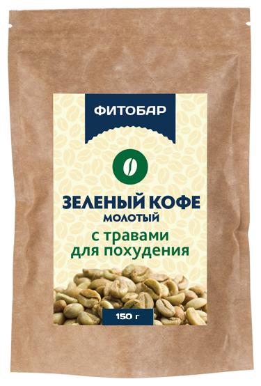 Соик Зеленый кофе молотый с травами для похудения