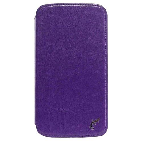 Чехол G-Case Slim Premium для Samsung Galaxy Mega 6.3 фиолетовыйЧехлы<br>