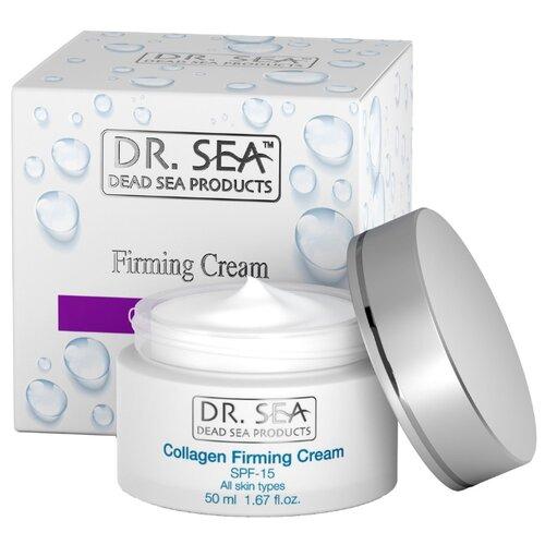 Крем Dr. Sea коллагеновый укрепляющий SPF15 50 мл dr brandt очищающий крем гель clean biotic 100 мл