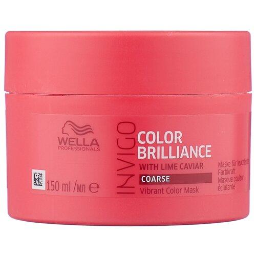 Фото - Wella Professionals INVIGO COLOR BRILLIANCE Маска-уход для защиты цвета жестких волос, 150 мл wella professionals invigo color brilliance gift set