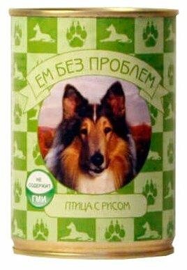 Корм для собак Ем Без Проблем Консервы для собак Птица с рисом