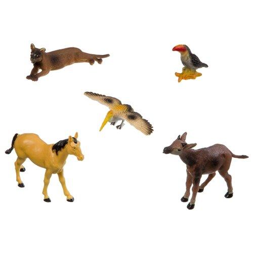 Фигурки BONDIBON Ребятам о зверятах - Дикие животные ВВ3135 bondibon ребятам о зверятах дикие животные вв3136