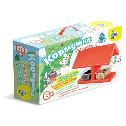 Купить Десятое королевство Набор для творчества Доброе дело Кормушка для птиц (красная крыша) (01639), Поделки и аппликации
