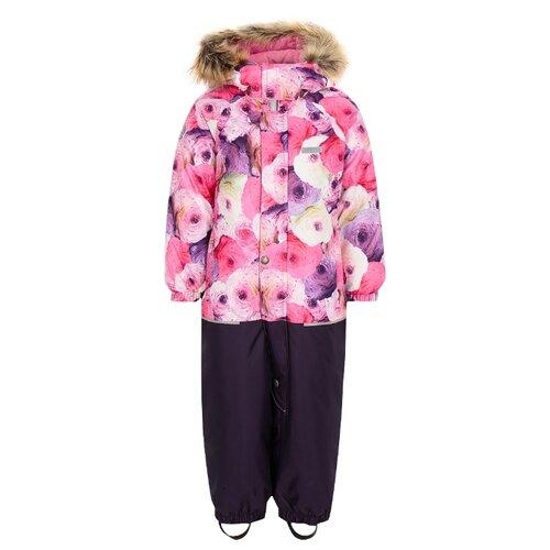 Купить Комбинезон KERRY FUN K18409 размер 80, 1799 фиолетовый/розовый/молочный, Теплые комбинезоны