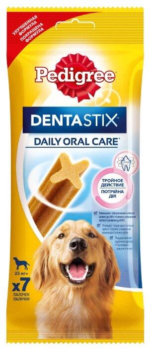 Лакомство для собак Pedigree Denta Stix для крупных пород