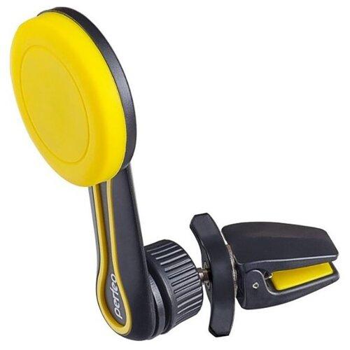 Автомобильный держатель для телефона/навигатора Perfeo-532 (желтый)