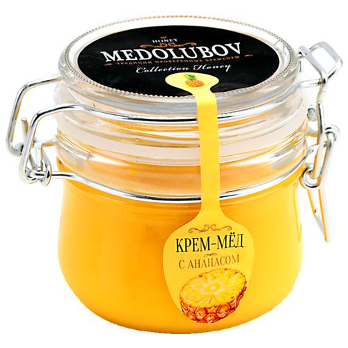 Крем-мед Medolubov с ананасом (бугель) 250 мл