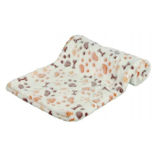 Подстилка-плед для собак TRIXIE Lingo Blanket 150х100 см белый/бежевый подстилка плед для собак и кошек trixie охлаждающая 50х40 см серый белый