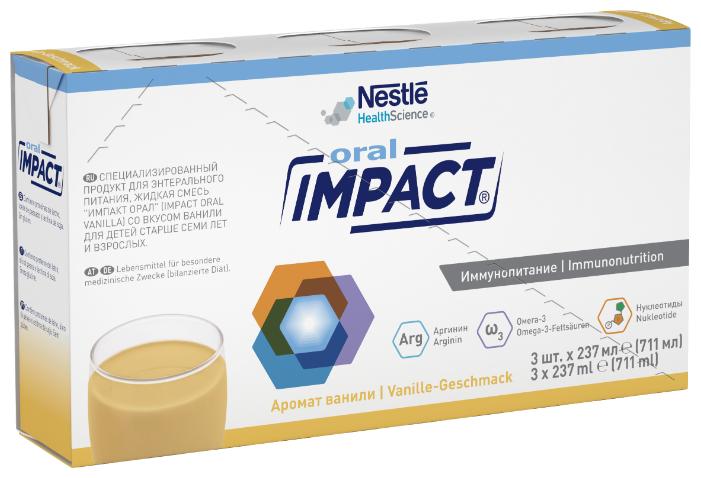 Impact (Nestle) Oral готовое к употреблению 237 мл