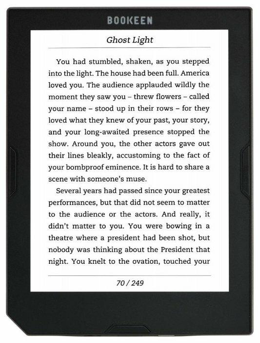 Электронная книга Bookeen Cybook Muse FrontLight