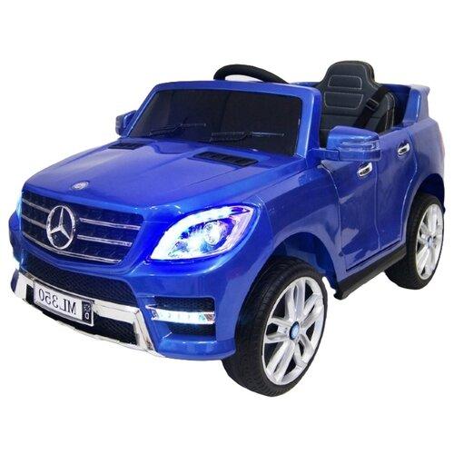 Купить RiverToys Автомобиль Mercedes-Benz ML350, синий глянец, Электромобили