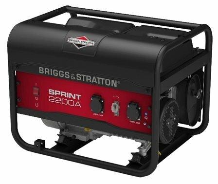 Бензиновый генератор BRIGGS & STRATTON Sprint 2200A (1700 Вт)