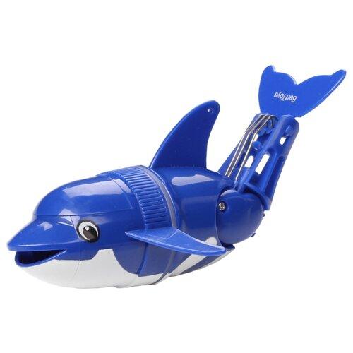 Купить Игрушка для ванной BertToys Дельфин Флипи синий, Игрушки для ванной
