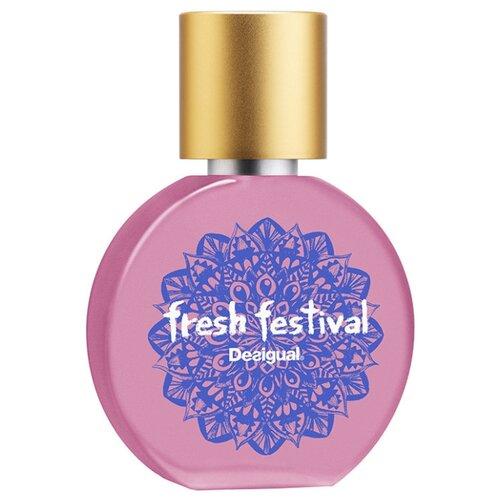 Туалетная вода Desigual Fresh Festival, 30 мл блуза desigual 17wwcw64 1001