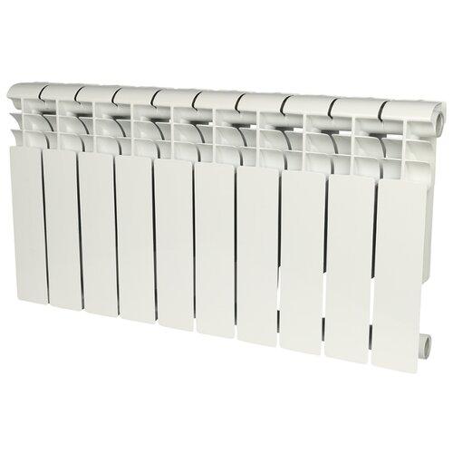 Радиатор секционный алюминий ROMMER Profi AL 350 x10 350/80 10 секций , подключение универсальное боковоеРадиаторы<br>