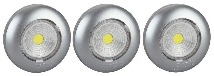 Светодиодный светильник ЭРА упаковка 3 шт SB-504 Аврора 7.3 см