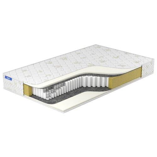 Матрас Miella Memory Multipoket 160x190, пружинный, белый