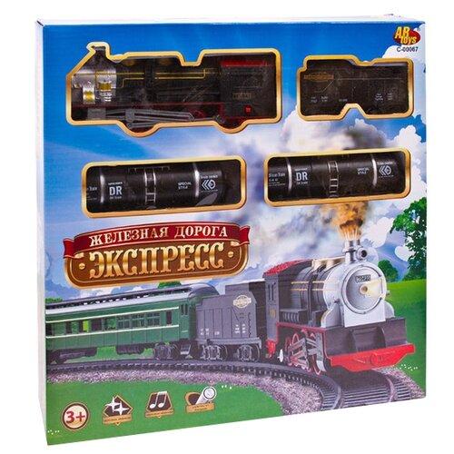 Фото - ABtoys Стартовый набор Экспресс, C-00067 (A36-22) abtoys стартовый набор железнодорожный переезд pt 01079