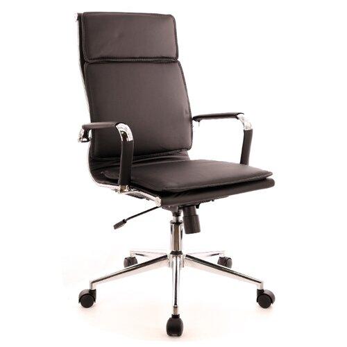 Фото - Компьютерное кресло Everprof Nerey T для руководителя, обивка: искусственная кожа, цвет: черный компьютерное кресло everprof trend tm для руководителя обивка искусственная кожа цвет черный