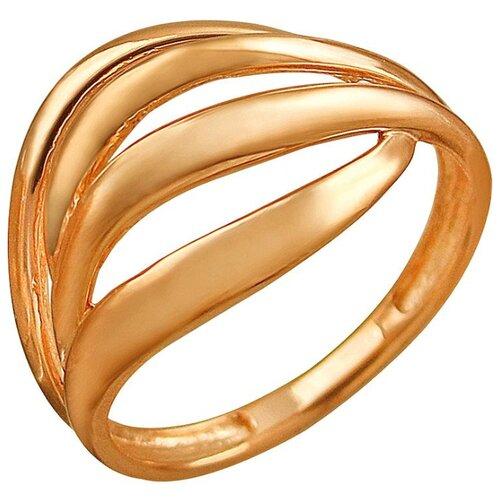 Эстет Кольцо из красного золота 01К018606, размер 16.5 ЭСТЕТ