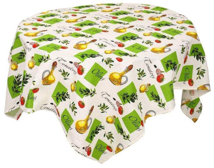 Скатерть Текстильная лавка Олива (Скр_150_4) 150х150 см