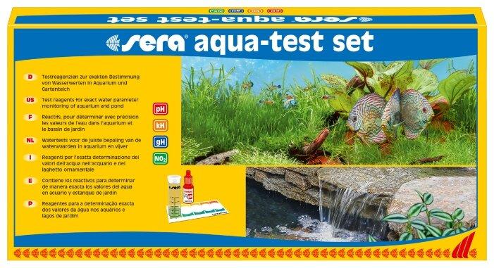 Sera Aqua-test set тесты для аквариумной воды (набор)