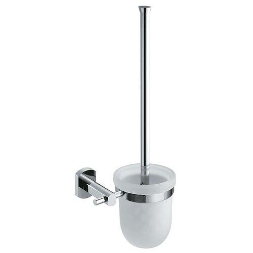 Ершик туалетный Milardo Tasman T081MI хром полка стеклянная milardo tasman t071 mi