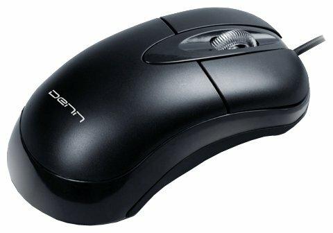 Мышь DENN DOM401 Black USB