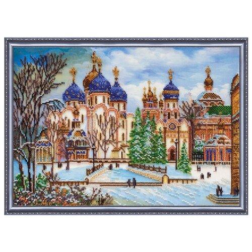 Купить ABRIS ART Набор для вышивания бисером К заутрене 43 х 30 см (AB-297), Наборы для вышивания