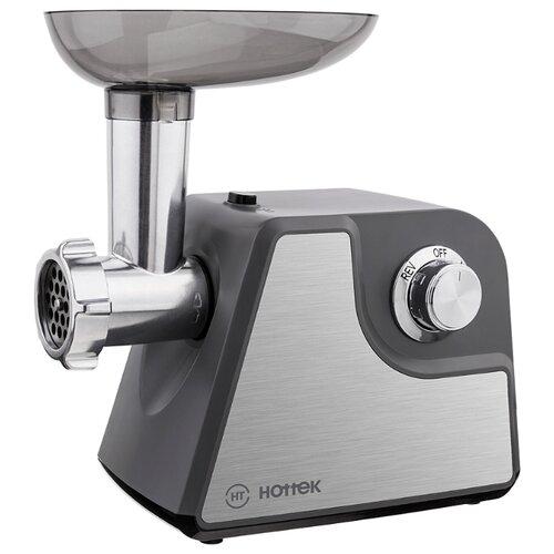 Мясорубка Hottek HT-976-001 черный/серебристый