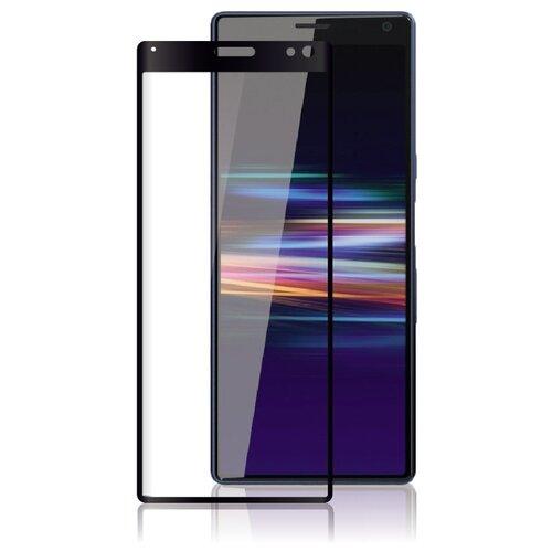 Защитное стекло Rosco полноприклеивающееся для Sony Xperia 10 Plus черный