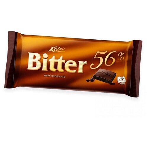 Шоколад Kalev Bitter горький 56%, 100 г цена 2017