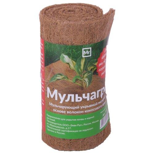 Кокосовая мульча многолетняя NEKURA Мульчаграм 75х230 см