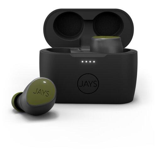 Беспроводные наушники Jays m-Seven True Wireless green фото