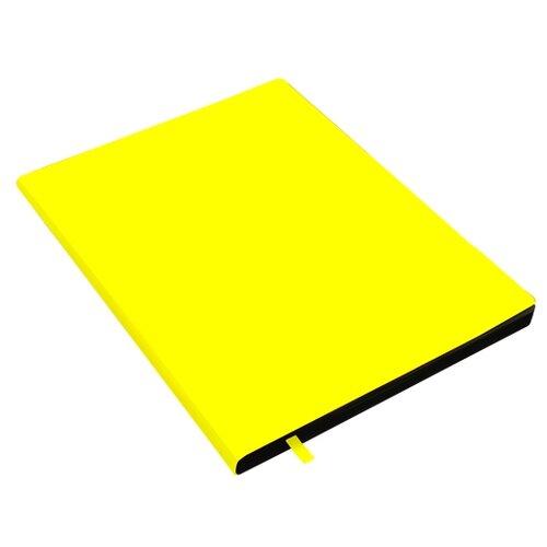 Купить Unnika land Тетрадь In Colour в клетку, 80 л., желтый неон, Тетради