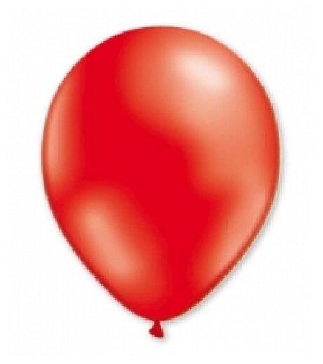 """Воздушный шарик """"Металлик"""", фуксия, 100 штук, 13 см"""