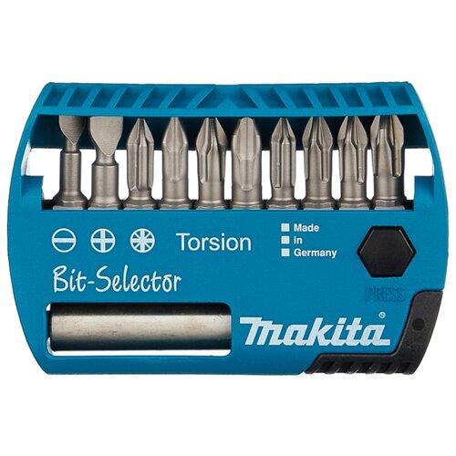 Набор бит Makita (10 шт.) P-53724Наборы инструментов и оснастки<br>