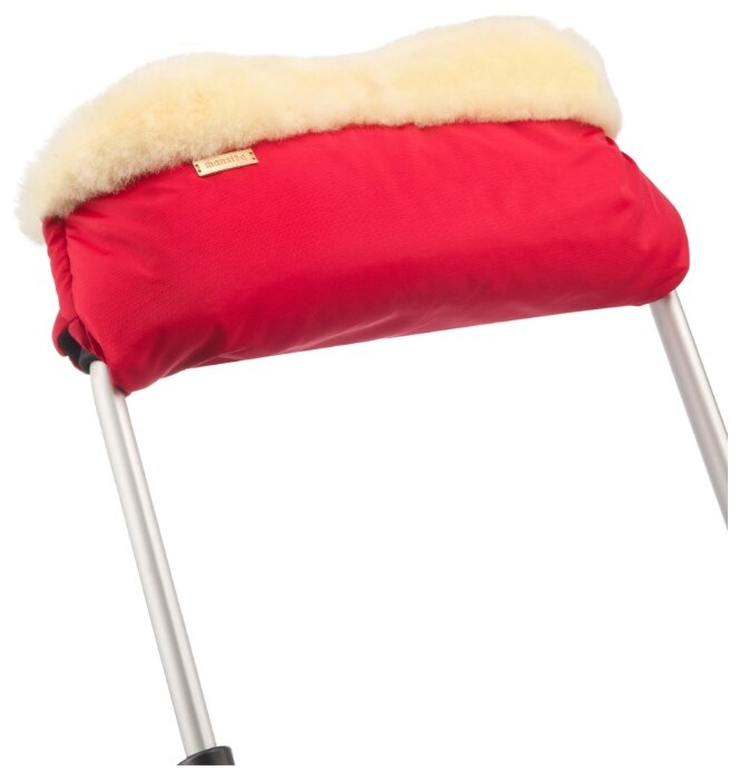 Mansita Муфта для коляски сплошная на меху