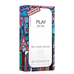 Парфюмерная вода GIVENCHY Play for Her Arty Color Edition