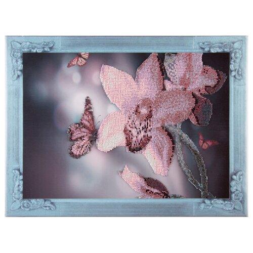 Color Kit Набор для вышивания бисером Нежная орхидеяНаборы для вышивания<br>