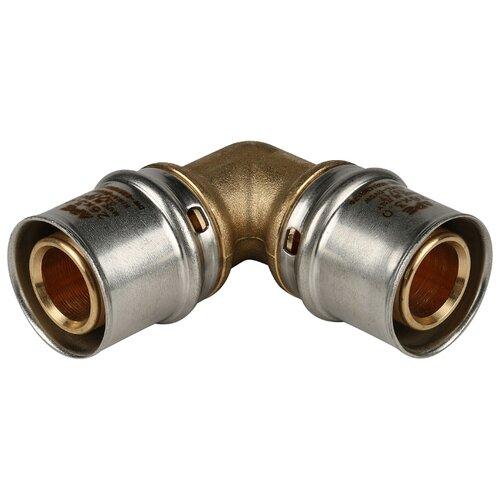 Фото - Угольник 90° STOUT SFP-0009-002626 26x26 пресс 1 шт. муфта соединительная равнопроходная stout sfp 0003 002626 26х26 мм для металлопластиковых труб прессовая