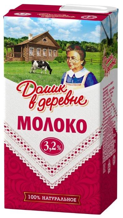 Молоко Домик в Деревне стерилизованное 3,2% 500 мл, 0.5 л.