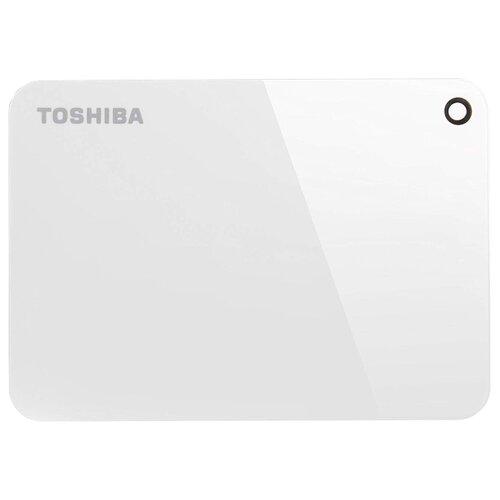Фото - Внешний HDD Toshiba Canvio Advance 4 ТБ белый внешний hdd toshiba canvio alu 1 тб красный