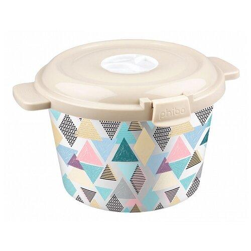 Phibo Емкость для холодильника и микроволновой печи с декором 2,1л декор