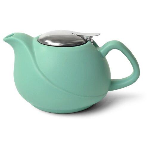 Fissman Заварочный чайник с ситечком 750 мл, аквамарин недорого